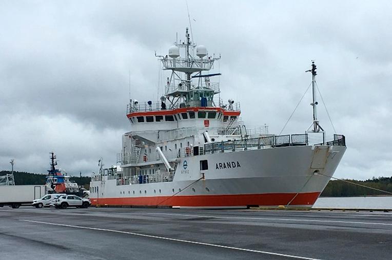 Vessel in port.